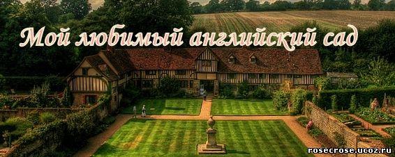 мой любимый английский сад